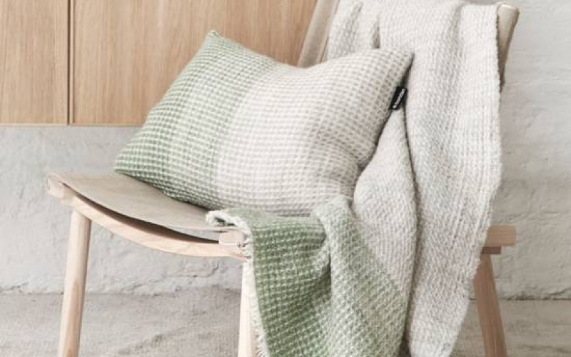 Bonden hometextiles, has been selected one of the most inspiring Finnish interioir design brands