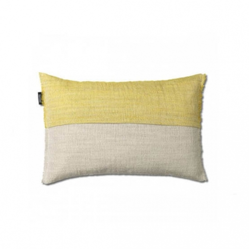 Ripat cushion, plant dyed