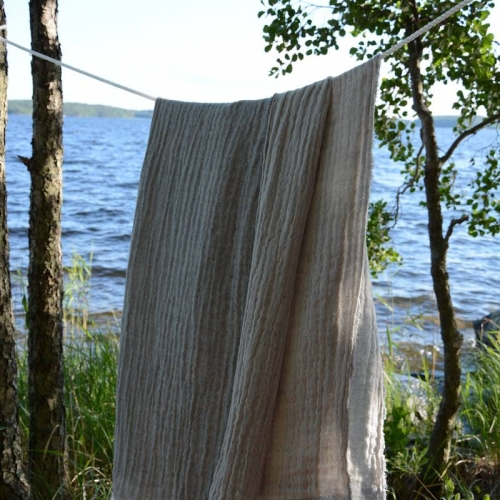 Testing materials in the authentic surroundings of Nordic nature