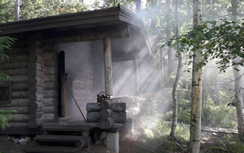 Finnish sauna heals the body and soul