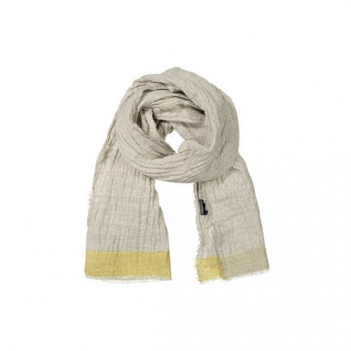 Tuulit shawl, natural dyed strieps